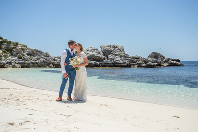 Rottnest Island Wedding Photo